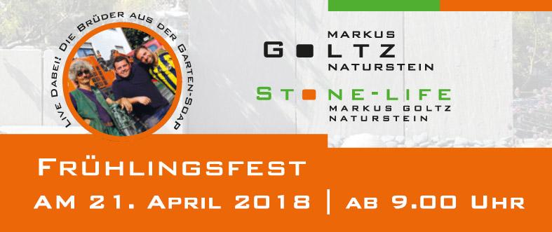 Frühlingsfest bei Stone-Life | Markus Goltz 2018